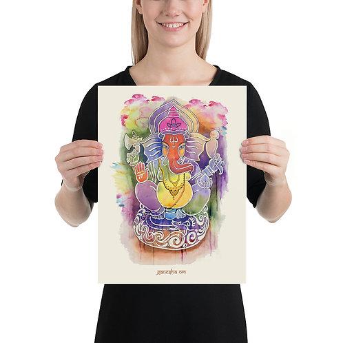 Ganesh Poster 12 x 16