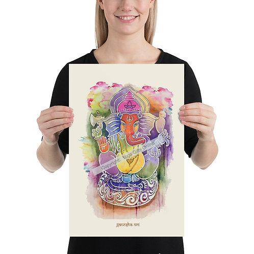 Ganesha Om Poster