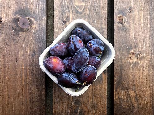Blue Plums; Organic & Non