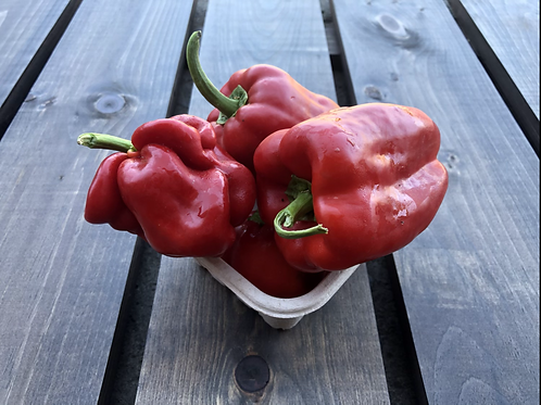 Red Bell Peppers; Organic