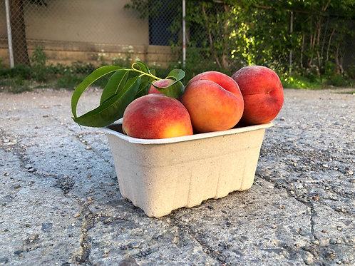Peaches; Organic & Non-Organic