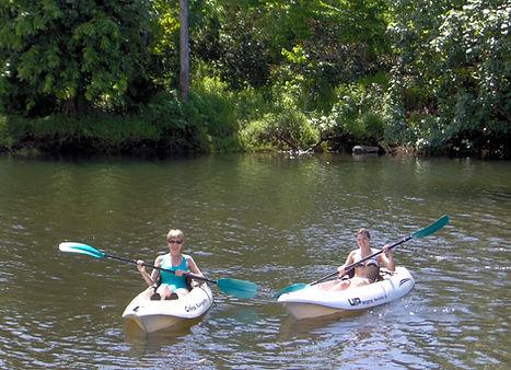 Kayaking at Salani Surf
