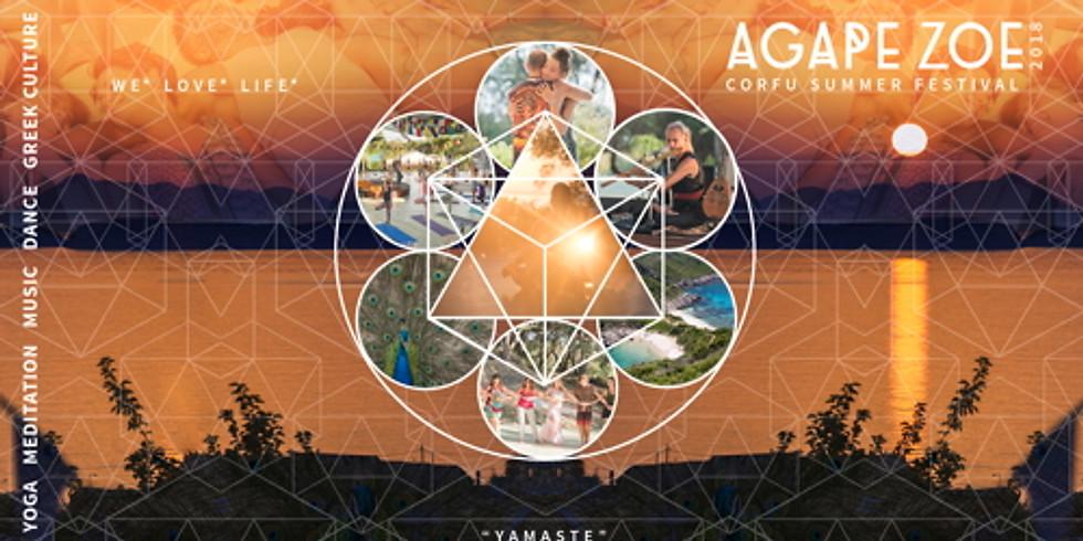 AGAPE ZOE FESTIVAL - CORFU - GREECE