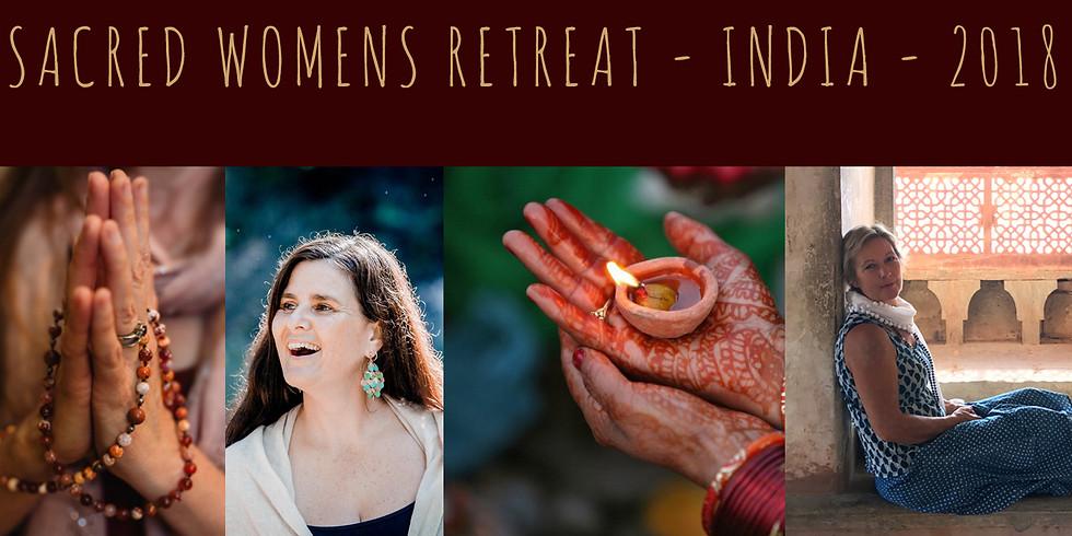 SACRED WOMENS RETREAT - INDIA