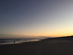Sunset on the beach  - Balina