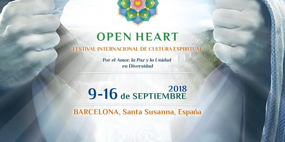 OPEN HEART FESTIVAL - BARCELONA
