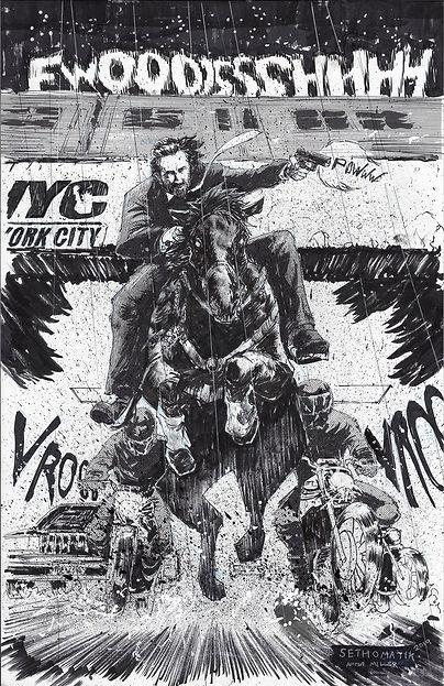 John Wick Art