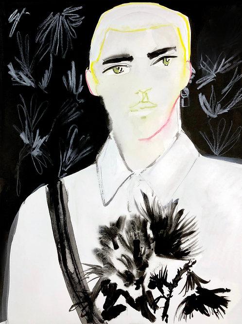 Alexander McQueen - Black Flower