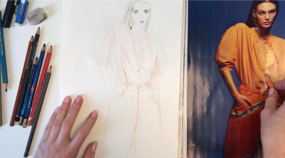 Fashion illustration course