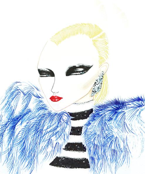 Madame Saint Laurent