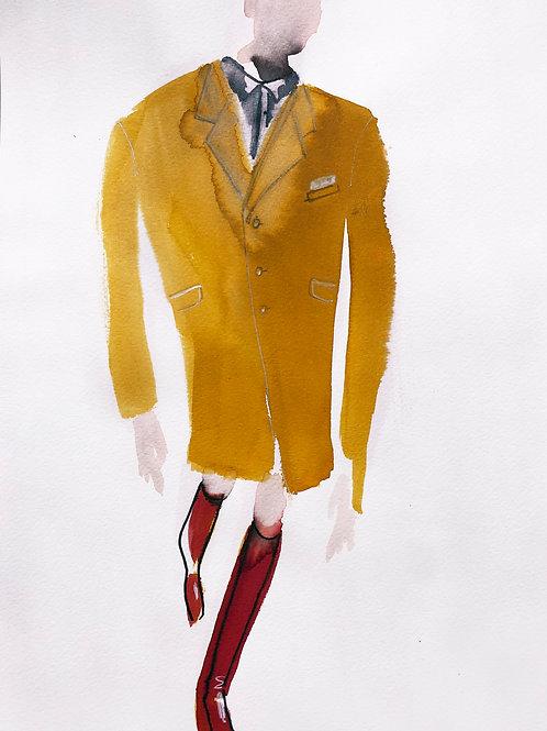 Figure in Coat