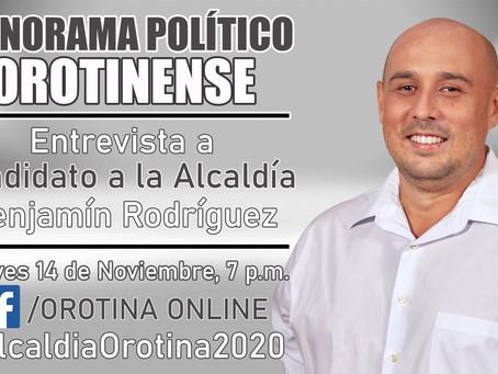Plan de Gobierno Benjamín Rodríguez - Partido Liberación Nacional