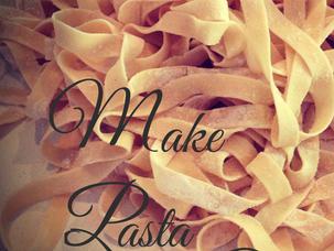 Make pasta...