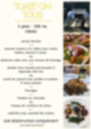 toast menu