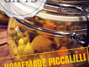 Food Gifts - Homemade Piccalilli