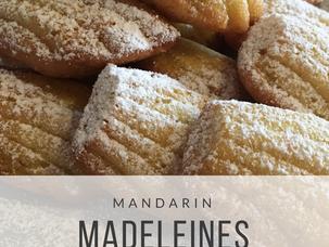 Mandarin Madeleines