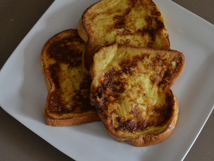 A French breakfast classic - Pain Perdu