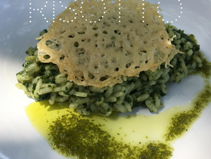 Nettle Risotto...yes nettles