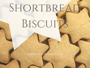 Super Easy Shortbread Biscuits