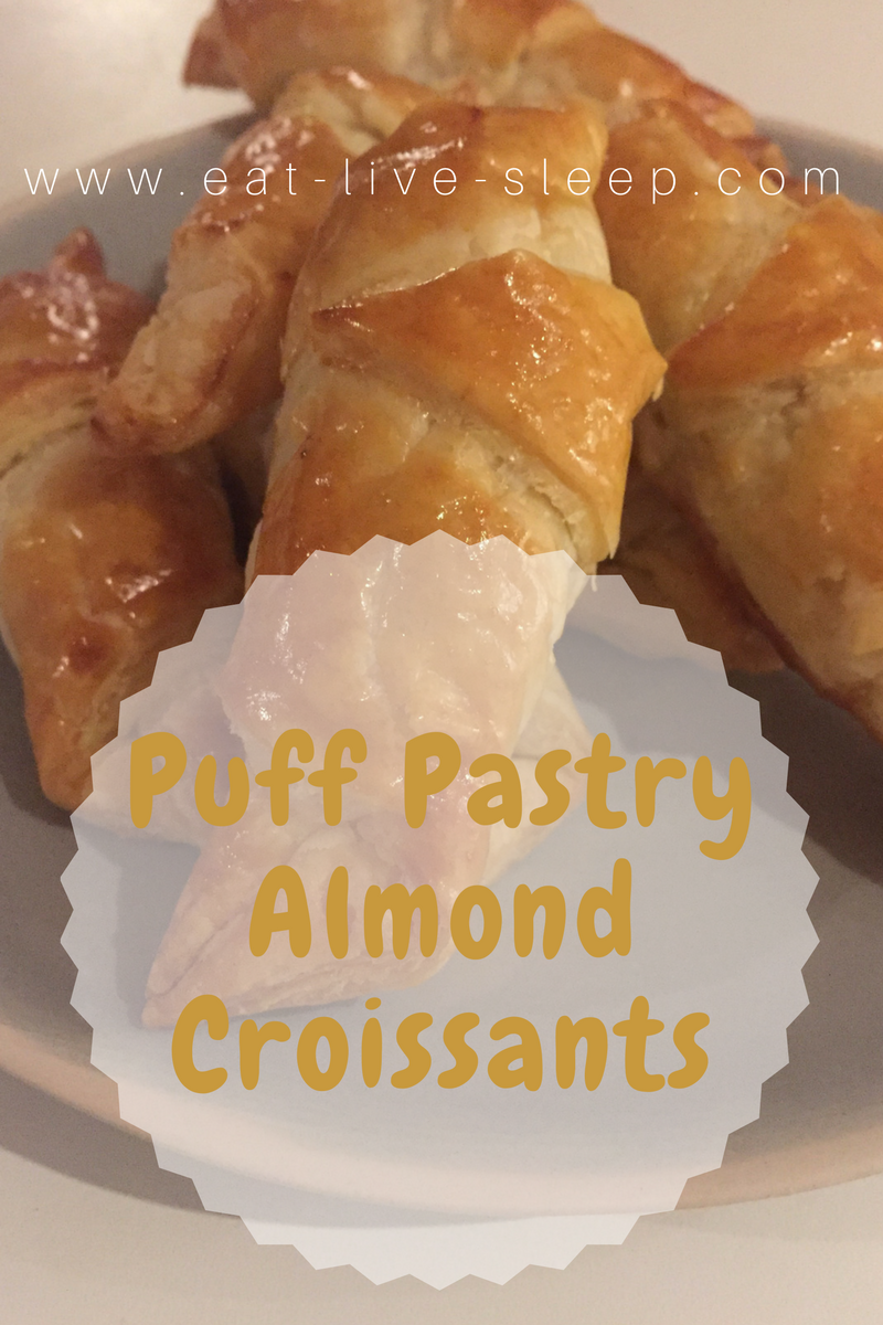 Puff PastryAlmondCroissants