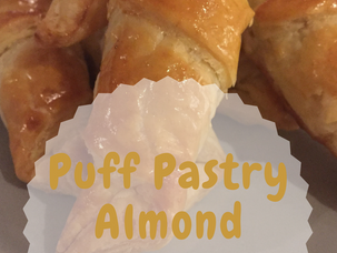 Puff Pastry Almond Croissants