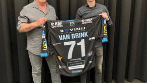 Renzo van Brink sluit zich aan bij de wolves!