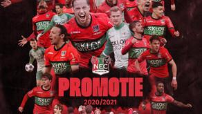 NEC Nijmegen, GEFELICITEERD met de promotie naar de eredivisie!