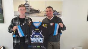 Mr Smith nieuwe sponsor van de Nijmegen Wolves.