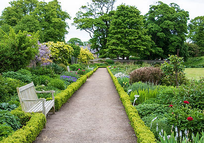Garten des Dirleton Castle