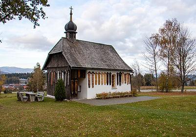 Kapelle bei der Burgruine Weissenstein