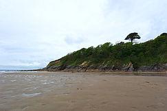 Strand beim Caerhays Castle
