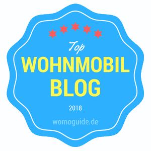 womoguide.de - Top-Wohnmobil-Blogs 2018