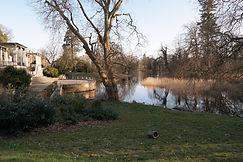 Seeterrasse, Schlosspark Putbus