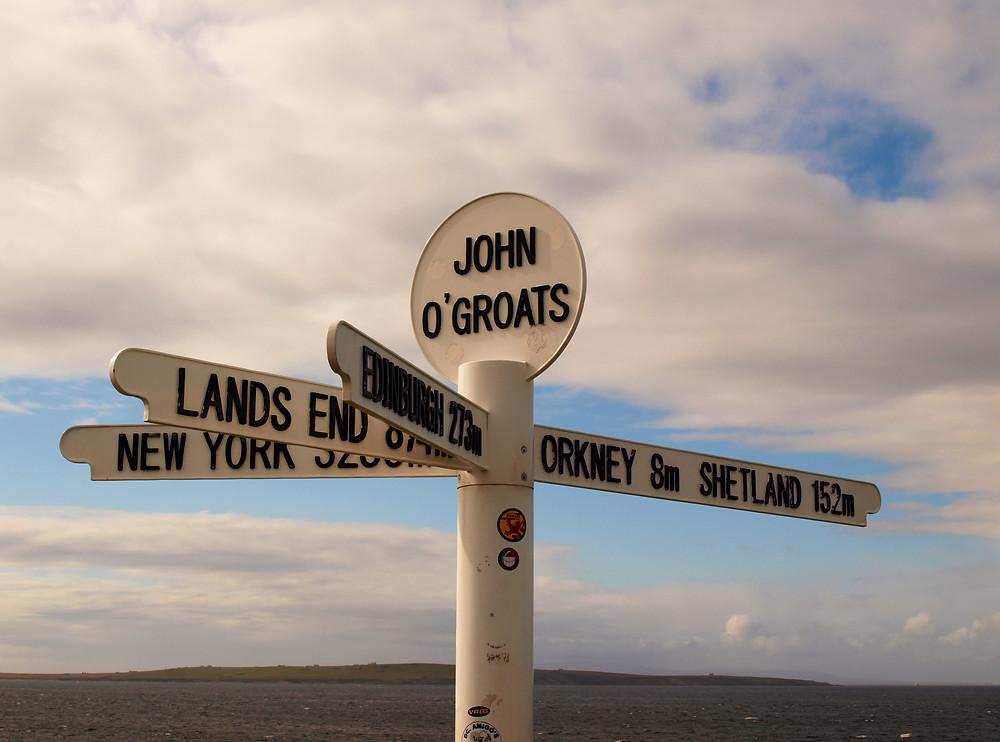 John O'Groats, Schottland