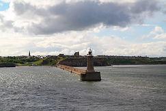 Ruine des Tynemouth Castle