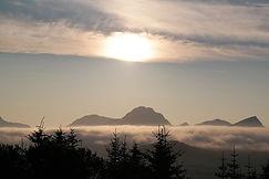 Sonnenuntergang Lofoten