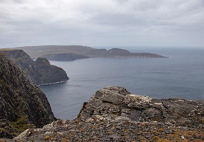 Nordkap - Blick auf Knivskjellodden