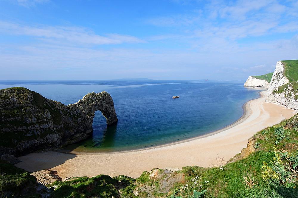 Reisebericht Wohnmobilreise England - hier Durdle Door