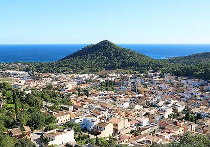Blick vom Castell Capdepra