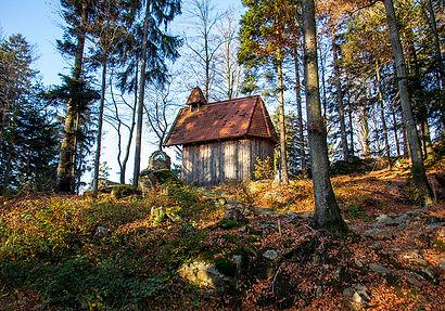 Kapelle auf dem Weg zum Kleinen Riedelstein