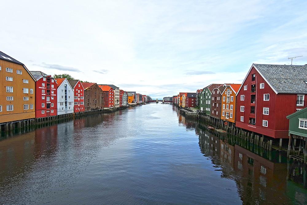 Trondheim, Speicherhäuser