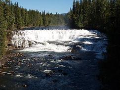 Dawson Falls, Wells Grey Nationalpark