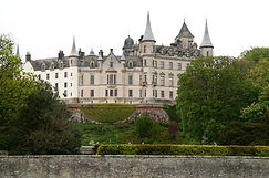 Rückansicht Dunrobin Castle