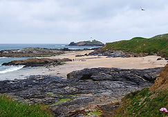 St Ives Bay, Godrevy Lighthouse