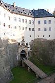 Eingang Festung Königstein