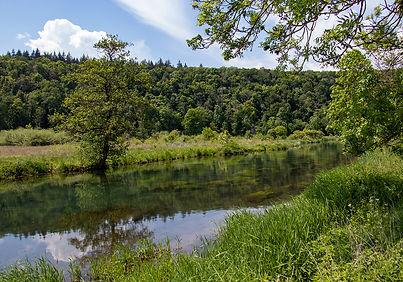 Fluss Benz - Eselsburger Tal