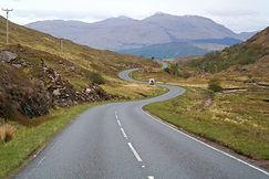 Landschaft von Schottland