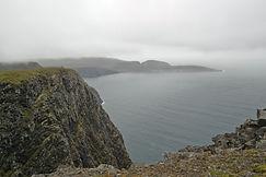 Knivskjellodden, Norwegen