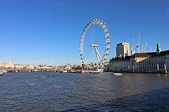 Blick auf London Eye