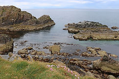 Landschaft Bow Fiddle Rock